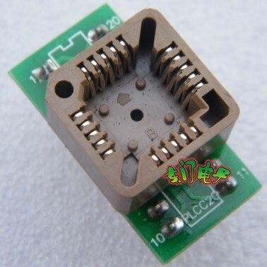 الشحن مجانا 5 قطع plcc20 dip20 plcc20 بسيط جيم كتلة اختبار محول