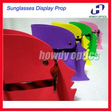 EVA-présentoir créatif en forme de tête de lunettes   Livraison gratuite, lunettes de soleil colorées, accessoire dexposition pour magasin optique, 2 pièces/lot