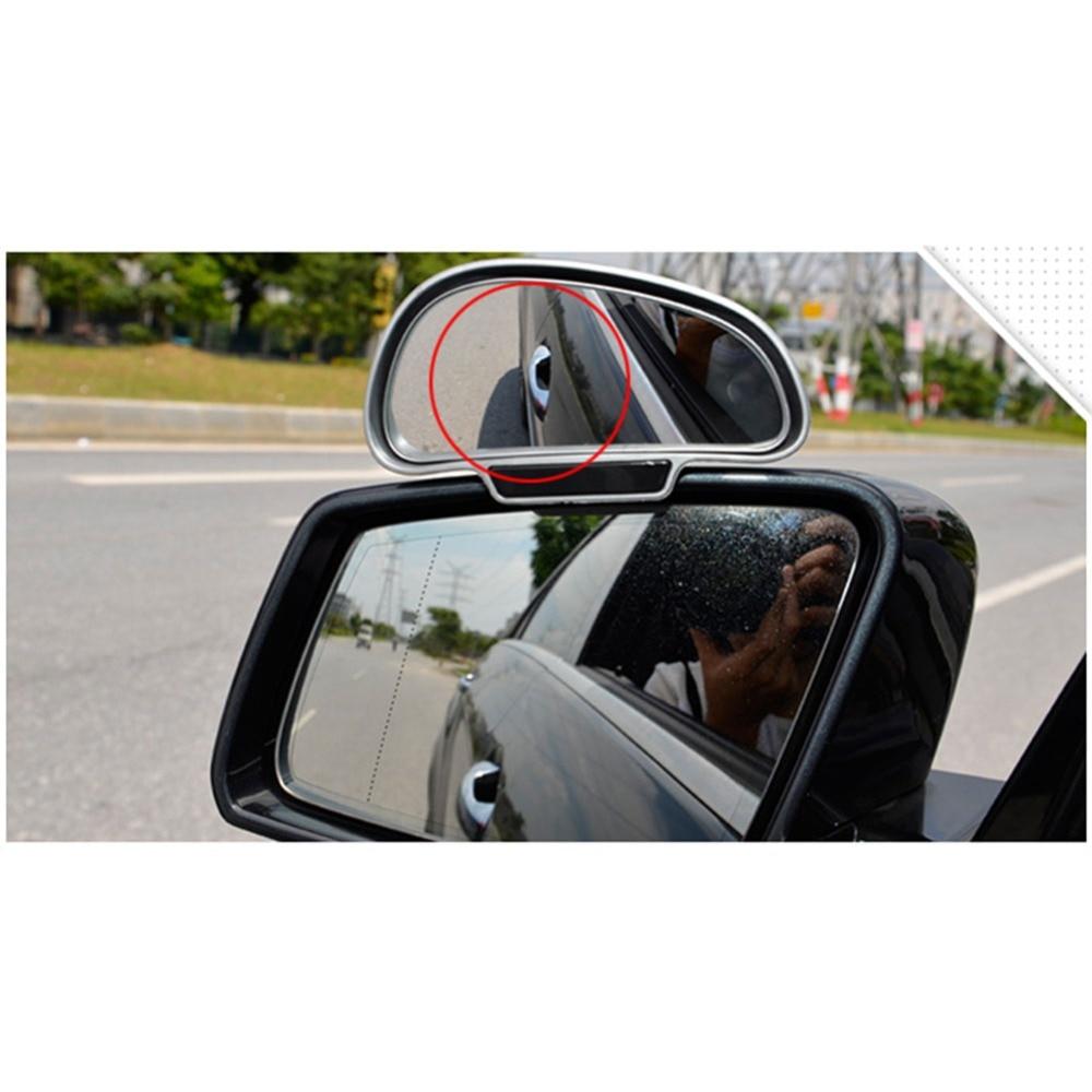 Espejos retrovisores laterales gran angular, ángulo ajustable de 360 grados, punto ciego...