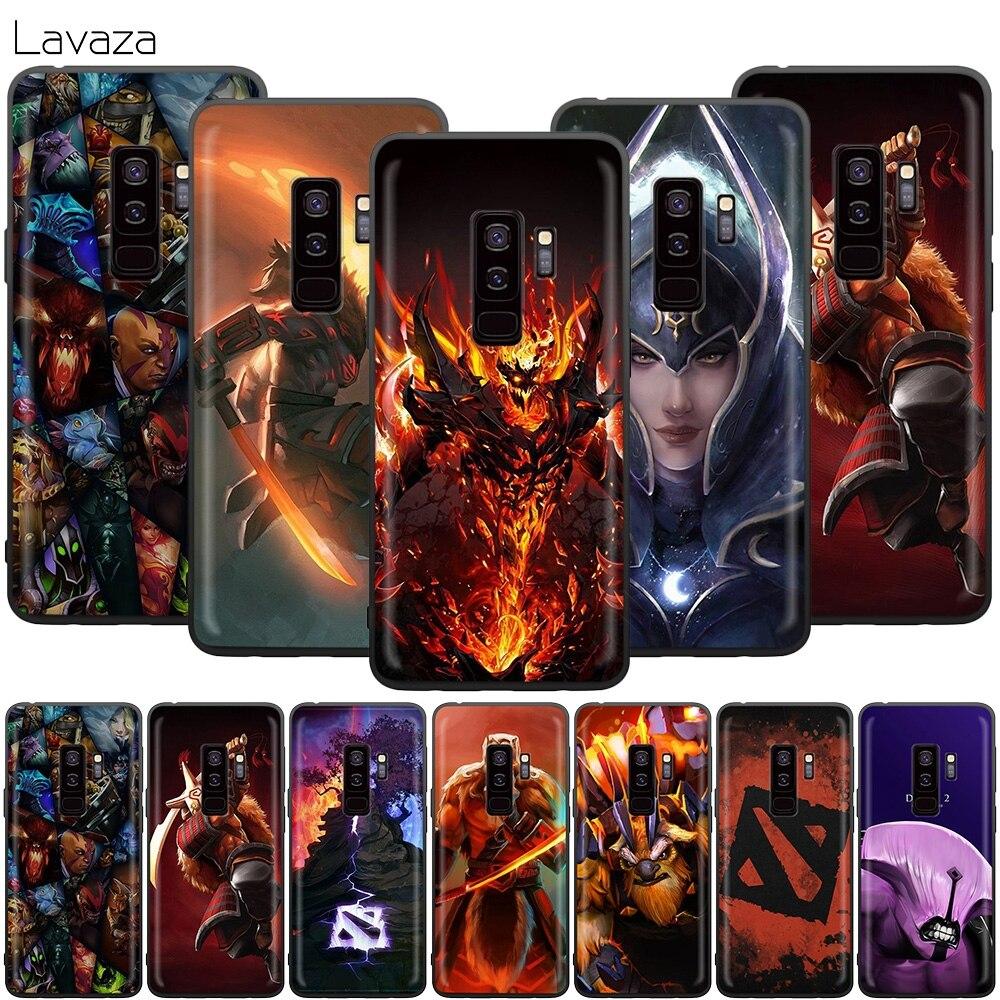 Shadow Fiend Dota 2 Case for Samsung Galaxy J6 A9 A8 A7 A70 A6 A5 A50 A40 A30 A3 A10 A51 A71 A81 A91 2018