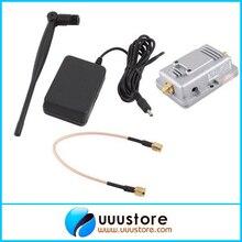 FPV 2.4g 2W Booster Amplifier Router Amplifier Extended Range Signal Broadband w/Antenna For JR FUTABA WFLY DEVO10 Tx Long Range