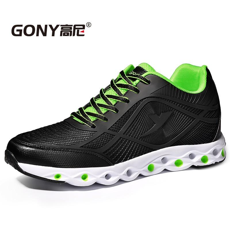 جديد مصعد أحذية رياضية غير رسمية زيادة الارتفاع 6 سنتيمتر مريحة تنفس مرتفعة أحذية رياضية للأزياء الفتيان ارتداء اليومي