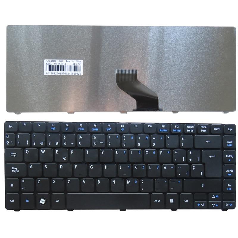 Испанская клавиатура для ноутбука Acer Aspire 4743G 4349 4352 4560 4560G 4750 4750G 4750Z 4739 4752 4752G 4752Z 4752ZG SP
