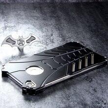 R-JUST Batman luksusowa przestrzeń Alu mi nium metalowe etui na xiaomi mi max2 Max 2 3 max3 obudowa telefonu komórkowego Coque