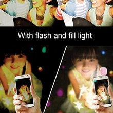 ICOCO 16 LED mini pendrive wypełnić światło LED lampa wideo lampa nadaje się do telefonu komórkowego Selfie jasność fotografia lampa 3.5mm sprzedaż