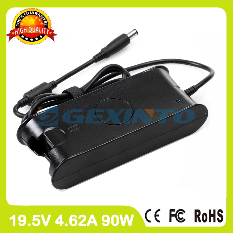 19,5 V 4.62A 90W del ordenador portátil cargador de adaptador de alimentación de CA 332-1833, 340-4002, 450-10484, 450-11168 para Dell Inspiron 3541 de 610M 3542, 630m 4420