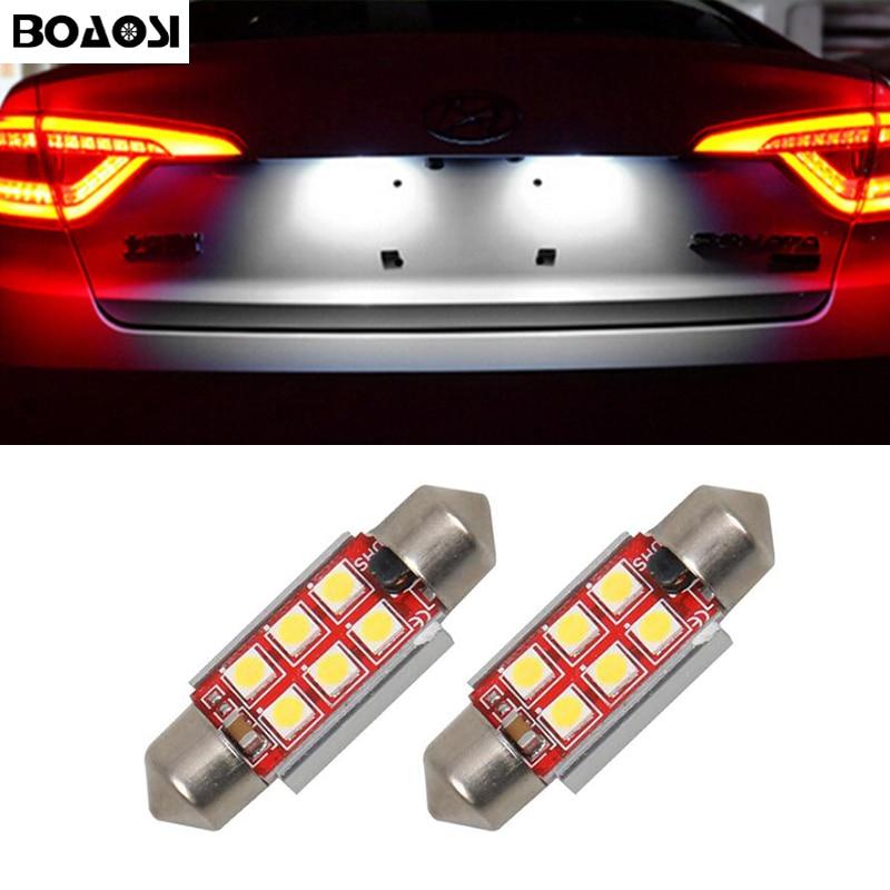 2x LED 36 мм Canbus C5W лампы для внутреннего освещения номерного знака для Mercedes Benz W208 W209 W203 W169 W210 W211 W212 AMG CLK