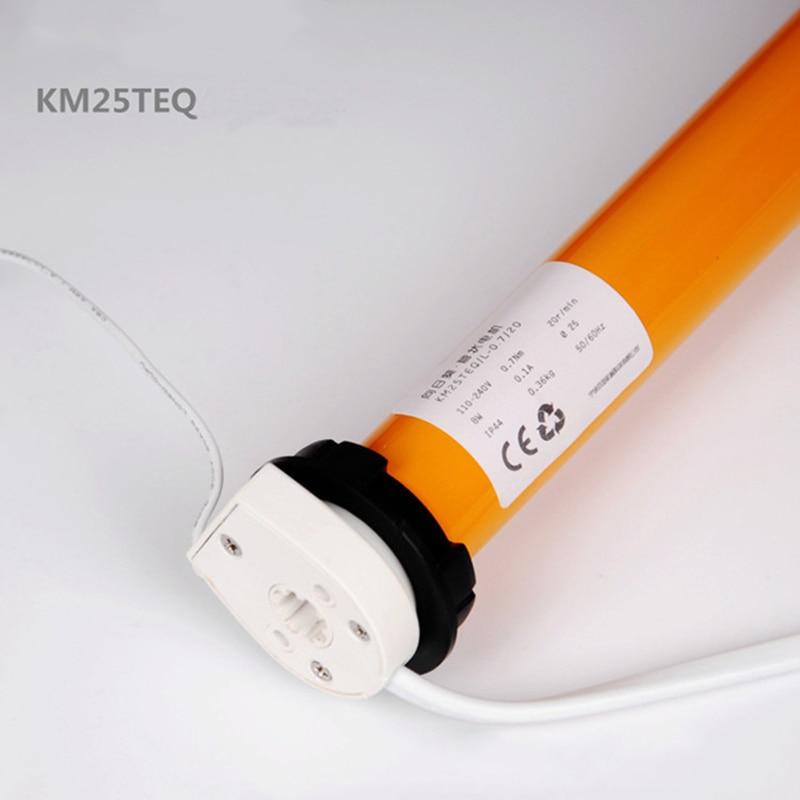 100-240V AC tubular motor KM25TEQ-0.7/20 Dooya Roller Blinds motor with dc2700 match 38mm roll tube for Smart Home system