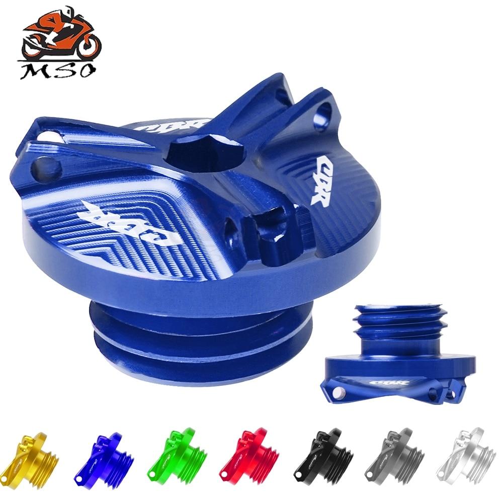 Motorcycle Accessories Engine Oil Drain Plug Sump Nut Cup Plug Cover For Honda CBR 600F 600RR 900RR 929RR 1000RR 954RR CBR954RR