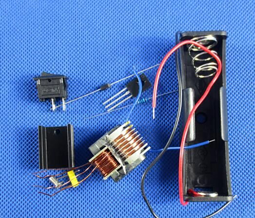 Inverter boost voltage generator sensor / arc ignition coil module / 15KV high frequency high voltage transformer.