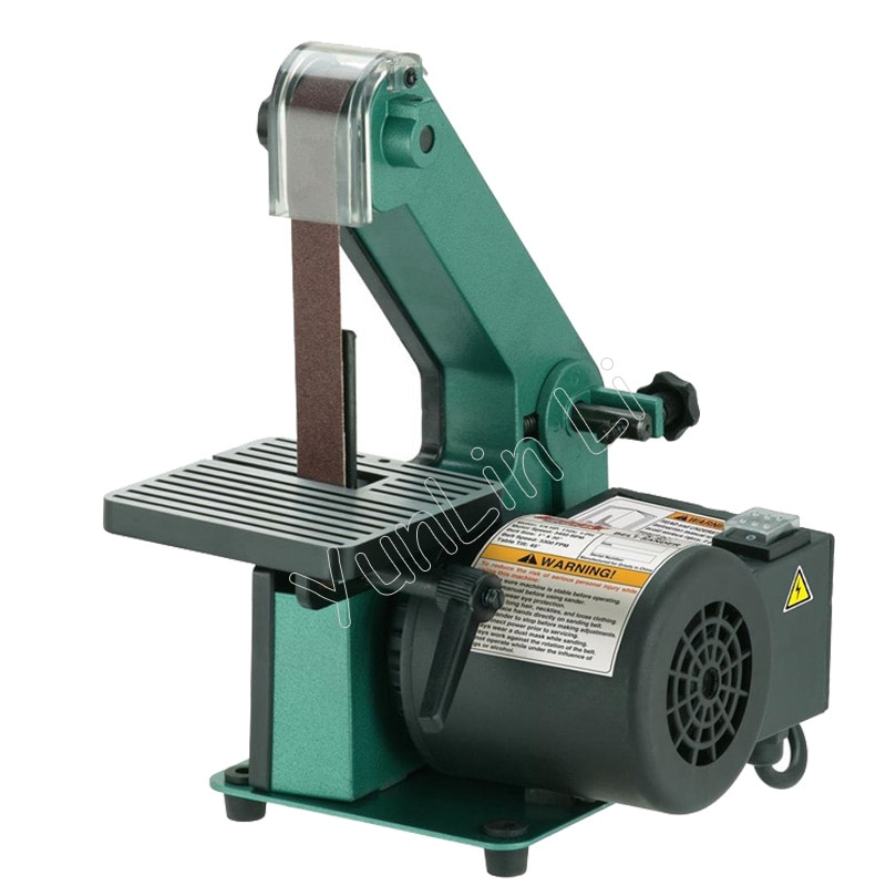 Polishing Belt Sander Grinder Sanding Machine For Woodworking Grinding Machine Metal Polisher Copper Motor Chamfering Machine