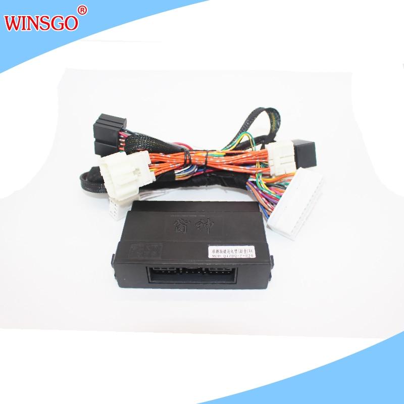 WINSGO-ملف مرآة الرؤية الخلفية الجانبية للسيارة ، مجموعة فتح وإغلاق النافذة الكهربائية لسوزوكي فيتارا/بالينو 2016-2020/سويفت 2018-2020