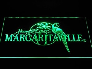 a267 Jimmy Buffett Margaritaville LED Neon Light Signs with On/Off Switch 7 Colors to choose