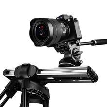 Micro 2 Kamera Slider Track Dolly Slider Schiene System Professional Tragbare Mini Reise Video Slider Für DSLR BMCC ROT ARRI mini