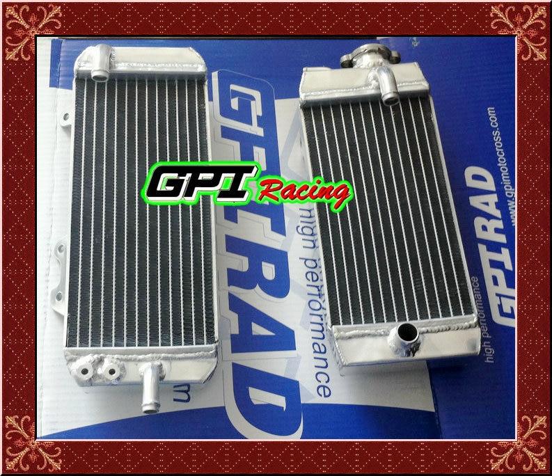 Para KAWASAKI KXF450 09 rxf 450 KX450F KX 450 F 10 11 2010 2011 radiador de aluminio