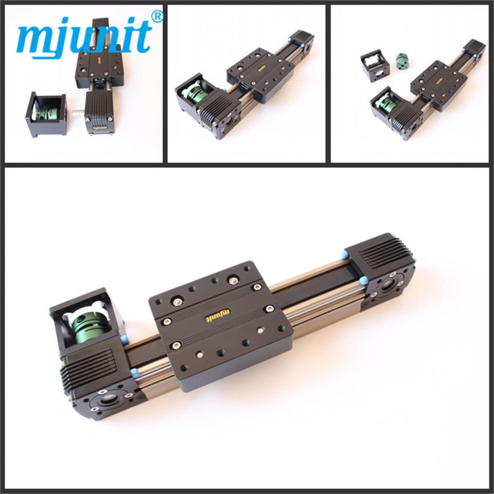 دليل خطي الشريحة كتل حزام محرك المحرك دليل الحركة الخطية السكك الحديدية 2