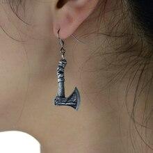 1Pair Vintage Viking Axe Earring For Women Amulet Earring Punk Jewelry