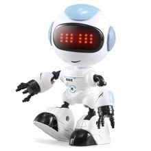 JJRC R8 Touch Sensing LED Augen RC Roboter Spielzeug Geistigen Stimme DIY Körper Geste Modell Weihnachten geschenk Für Kinder Spielzeug