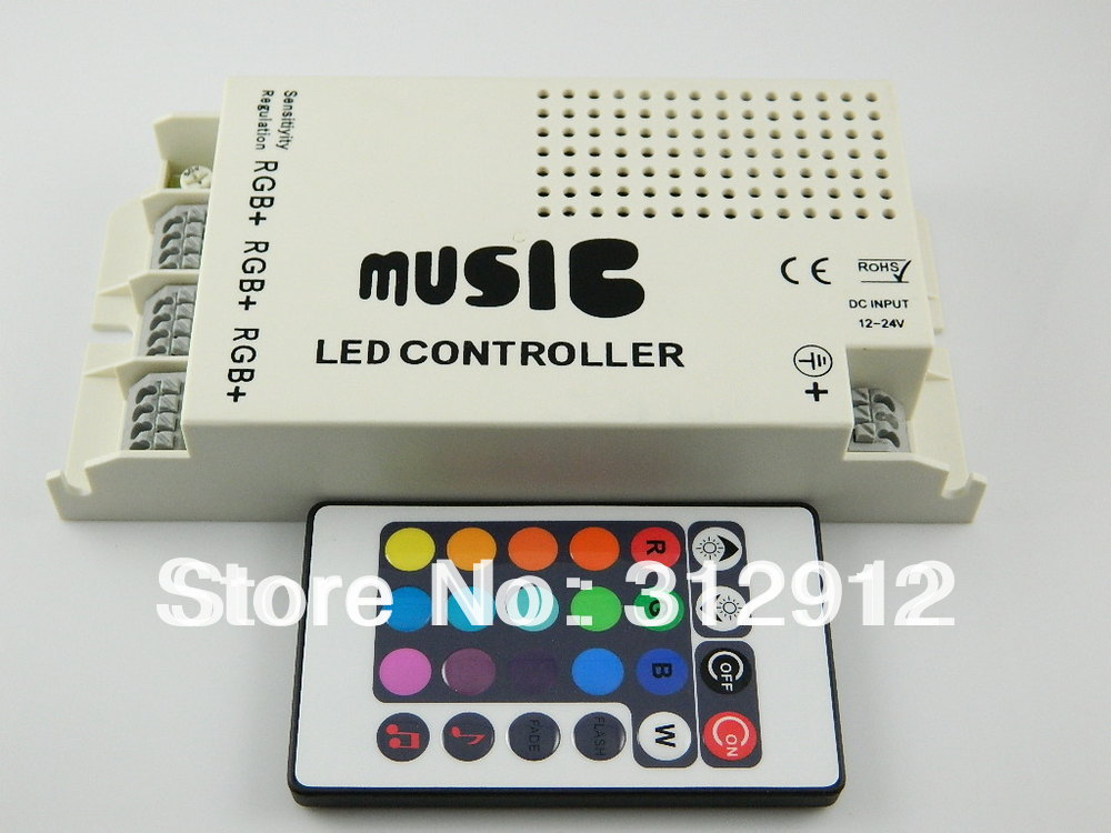 9 channel led IR music controller,DC12V input,1A*9 channel output