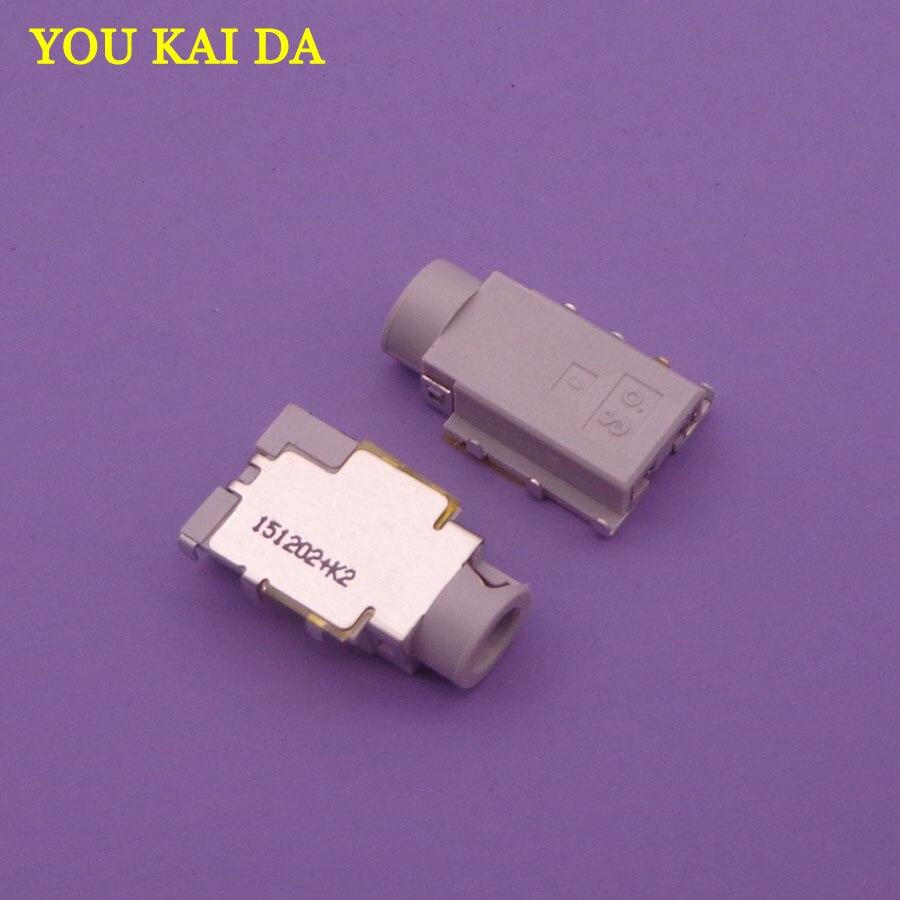 20 pcs Porta de Fone de ouvido De Áudio Portátil, 7Pin Mic Jack Soquete para HP Pavilion DV2 DM3 Motherboard Conector de Áudio