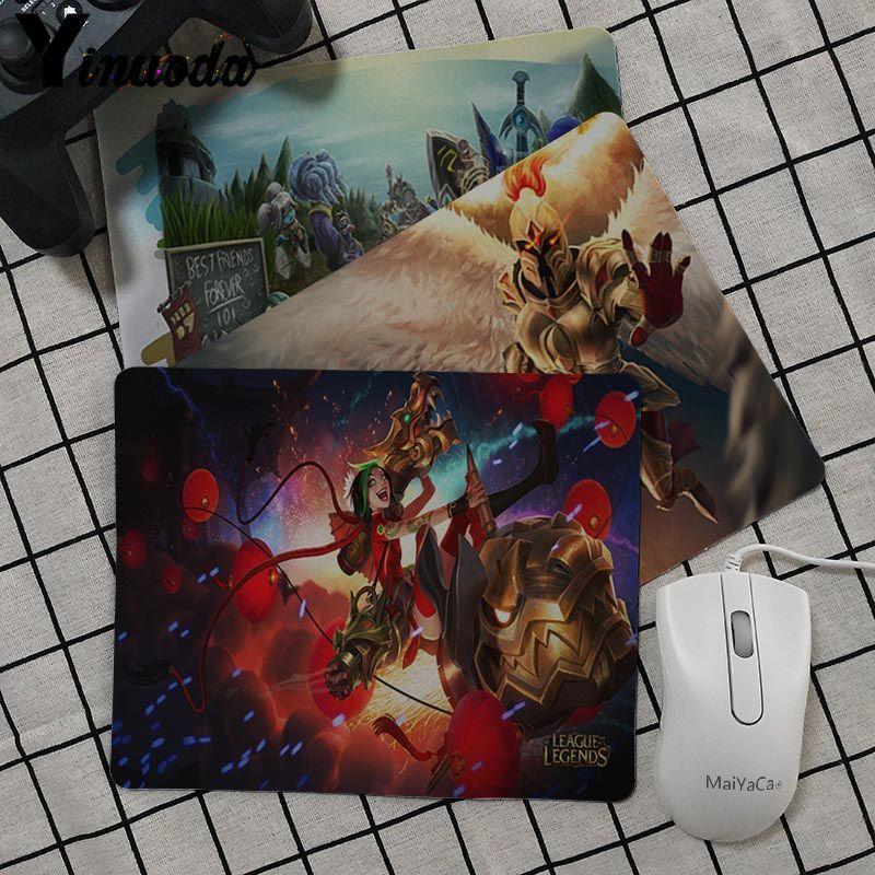 Yinuoda Pentakill Kayle Splash Art Уникальный Настольный коврик для мыши резиновый ПК компьютерный игровой коврик для мыши для dota2 cs go lol Game