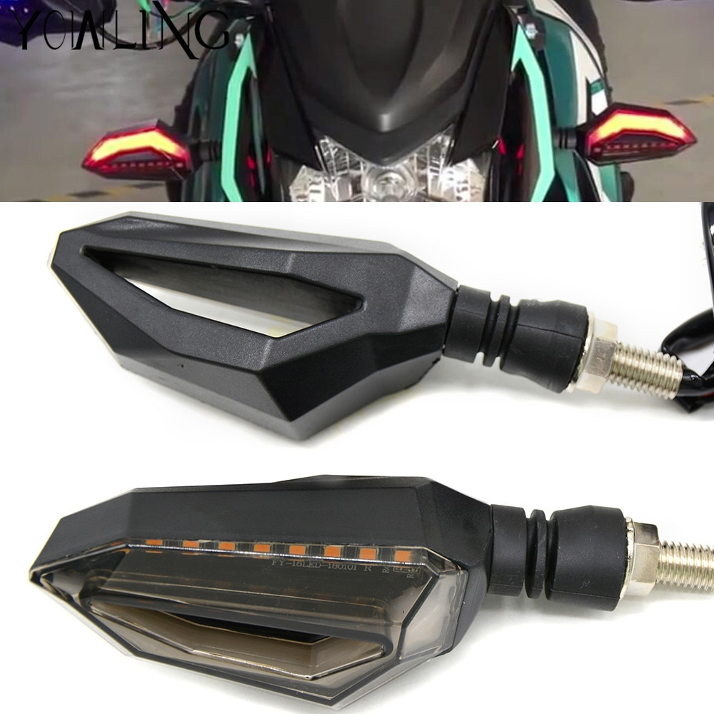 Motocicleta led transformar luzes de sinalização âmbar lâmpada esquerda direita sinais indicadores pisca para bmw g650gs g650 sertão f650cs scarver
