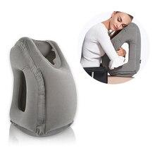 Portable Travel Inflatable Pillow Car Sleeping Nap Artifact Train Plan Essential Sleep Pillow New Arrival