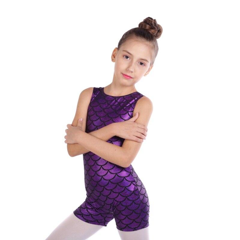 Nuevos pantalones sin mangas Color radio Bodi a juego Ballet gimnasia ropa de entrenamiento de danza Niño