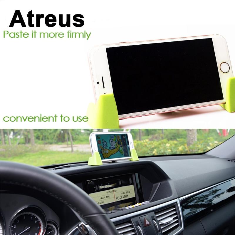 Atreus 3 uds tablero de instrumentos teléfono móvil GPS soporte Kit de soporte para Mercedes benz W204 W203 W211 AMG Mini cooper Skoda Octavia a5