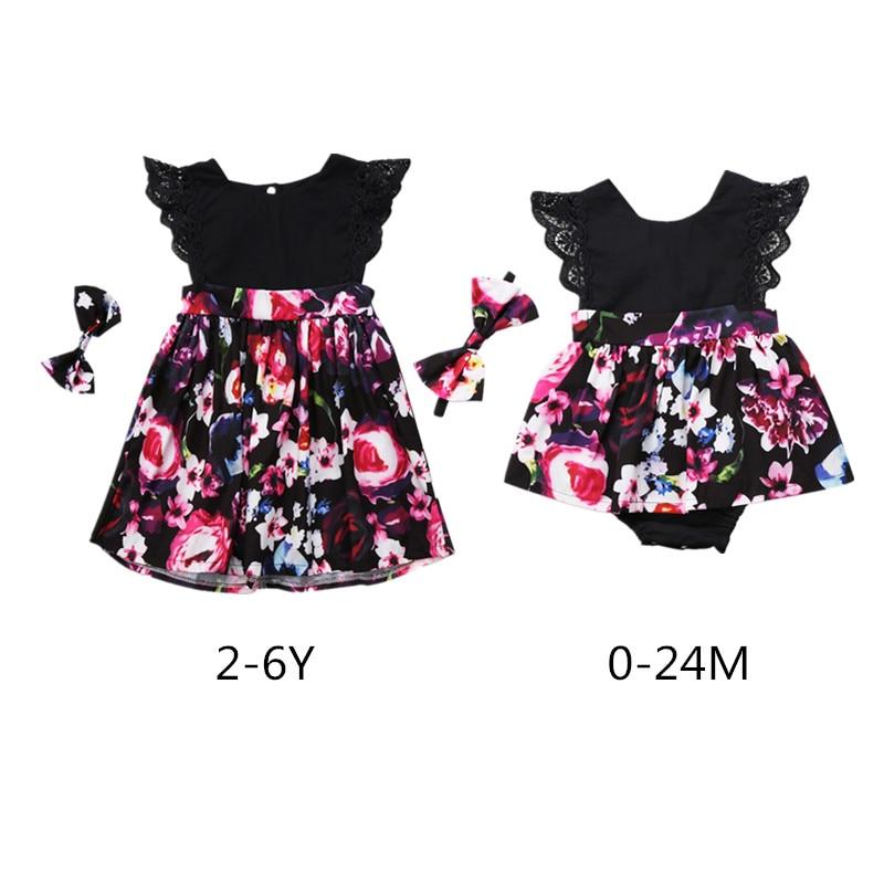 Recién Nacido bebé niños niña ropa sin espalda a juego de flores body TUTU mono púrpura vestido + diadema trajes Set 0-6Y