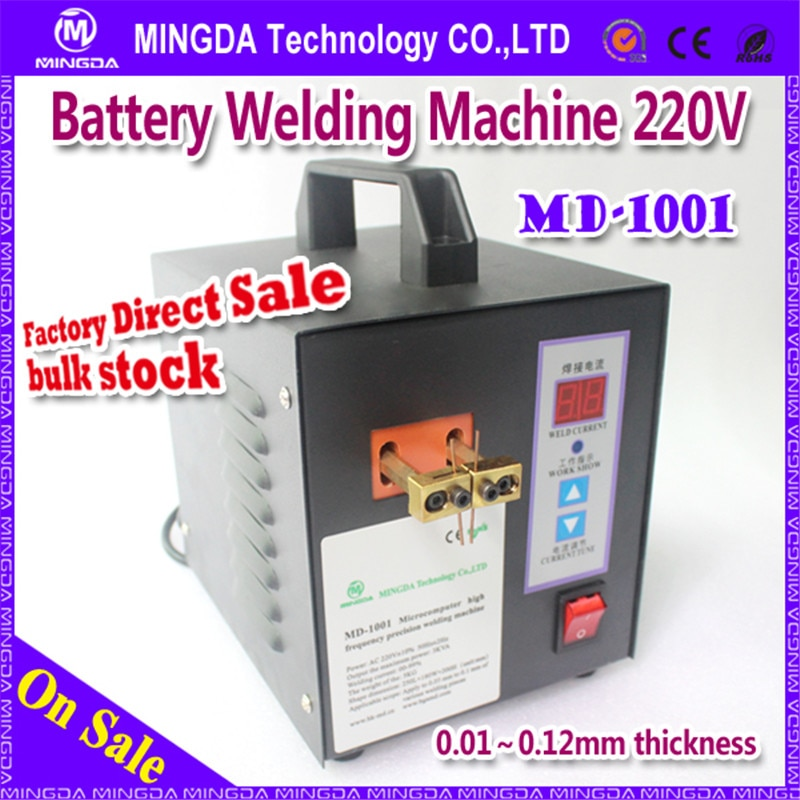 110/220 V Md-1001 baterii do zgrzewania punktowego profesjonalnego Mingda baterii Tab SPAWARKA wysoka wydajność SPAWARKA Md-1001