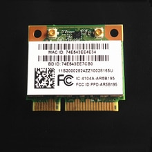 Carte sans fil AR5B195 802.11bgn WIFI + BT3.0 pour la série Lenovo G580, FRU 20002524