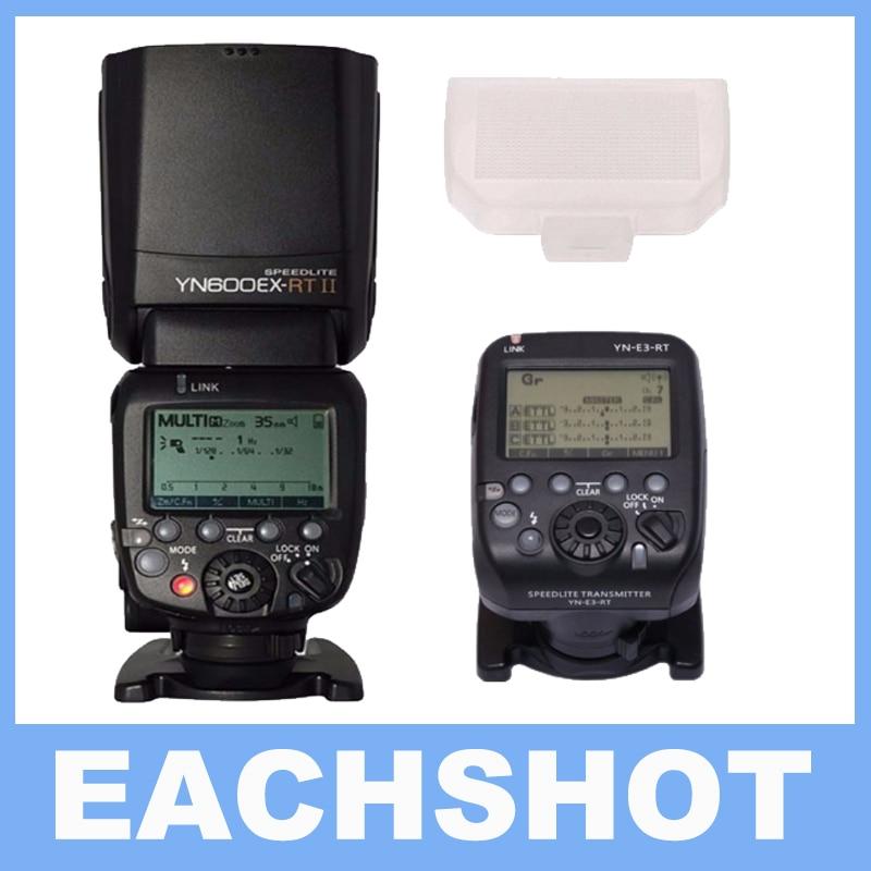 YONGNUO YN600EX-RT II Sem Fio Flash Speedlite com Óptica Mestre e TTL HSS para Canon COMO Para Canon 600EX-RT
