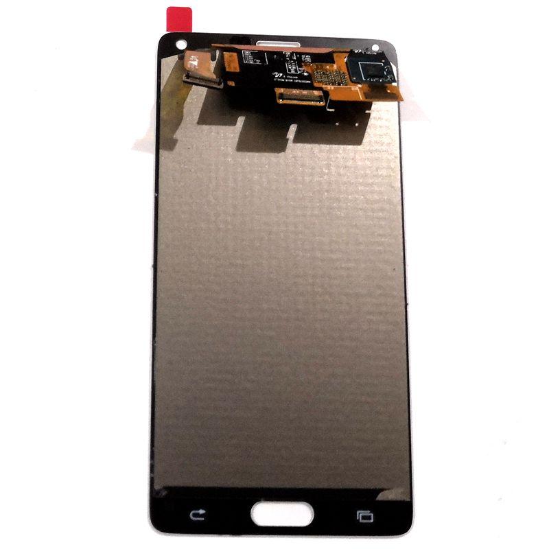 Amoled Протестировано хорошо для Samsung Galaxy Note 4 N910 N910F N910C N910A LCD Сенсорное Стекло полный набор для ремонта note4 дисплей красный ожога