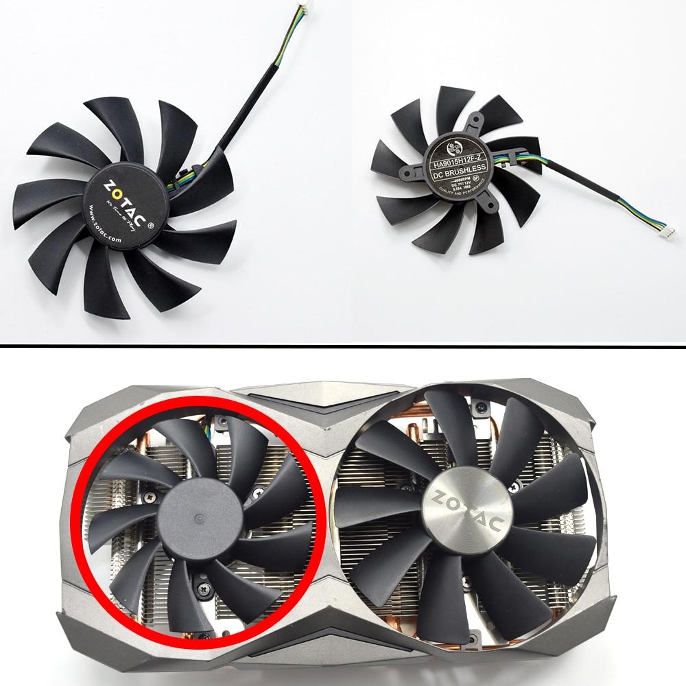 Новый охлаждающий вентилятор 85 мм для ZOTAC GTX 1060 1070TI 1080Ti MINI AMP, охлаждающий вентилятор для видеокарты DIY