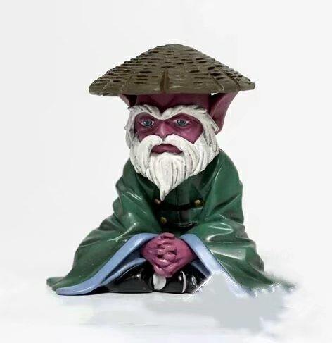 Nueva muñeca de 8cm de colección Saint Seiya Old Dohko juguete de figura de PVC regalo de Navidad con caja