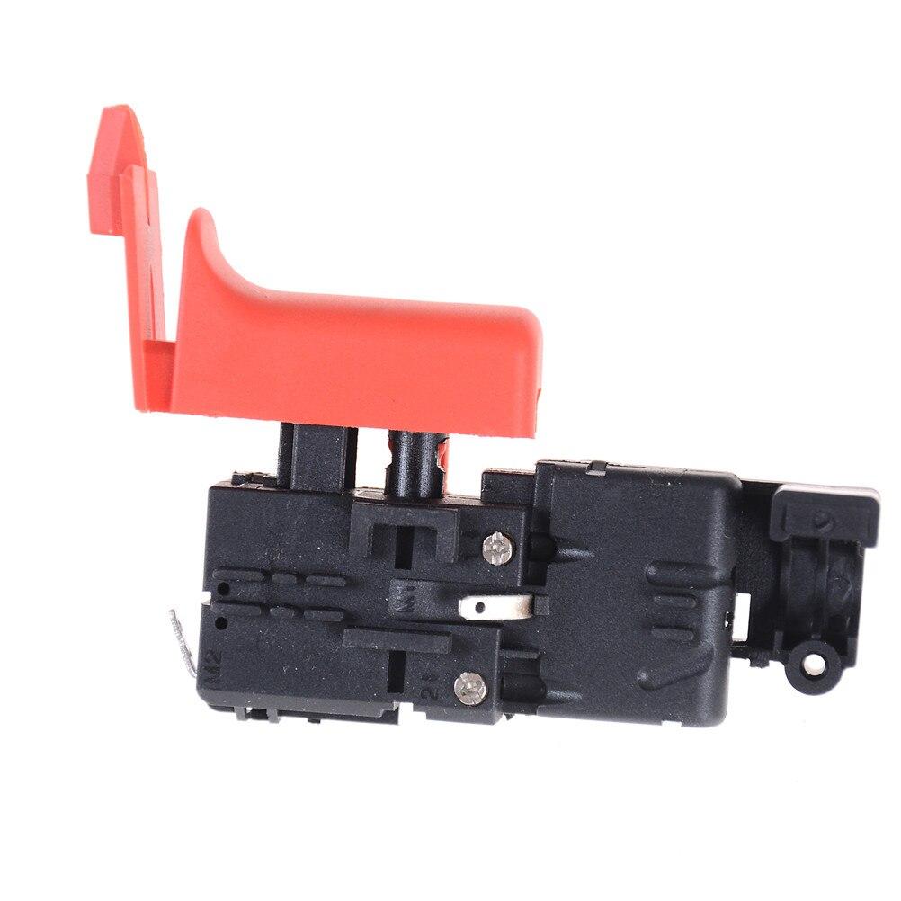 AC 250V 4A T55 5E4 SPST Lock no Interruptor De Alimentação Ferramenta para GBH2-26DRE Martelo Elétrico Atacado