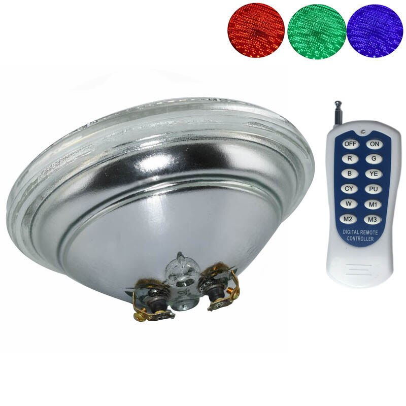 rgb swimming pool light 9w surface mounted pool lamp dc12v underwater pond lighting resin filled 12V RGB LED Underwater Light with Remote Control Round Swimming Pool Pond Light Waterproof Lamp