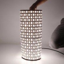 Auflösung Flexible Beleuchtung Rolle LED-Licht Panel led-vorhang-bildschirm Für Fotografie Shooting Foto Studio Tageslicht