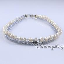 Collier de perles de culture pas cher collier de perles bijoux de perles en ligne bijoux de mariée