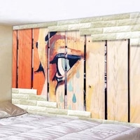 geometric plank eye printed large wall tapestry cheap hippie wall hanging bohemian wall tapestries mandala wall art decor