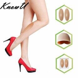 Knowu silicone perna onlays almofadas de bezerro de silicone para pernas tortos ou finas beleza do corpo pernas criador crossdresser