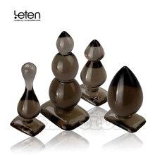 Leten silikonowe kulki analne, korek analny, Butt Plug, Anal Dildo Anal Sex zabawki produkty dla dorosłych dla kobiet i mężczyzn, bez wibracji