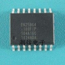 EN25B64 EN25B64-100FIP Motherboard LCD Chip de Memória SOP-16 marca original novo
