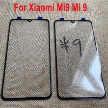 Top Quality New Outer Glass Lens LCD Front Panel Touch Screen For Xiaomi Mi9 Mi 9 External Screen Mo