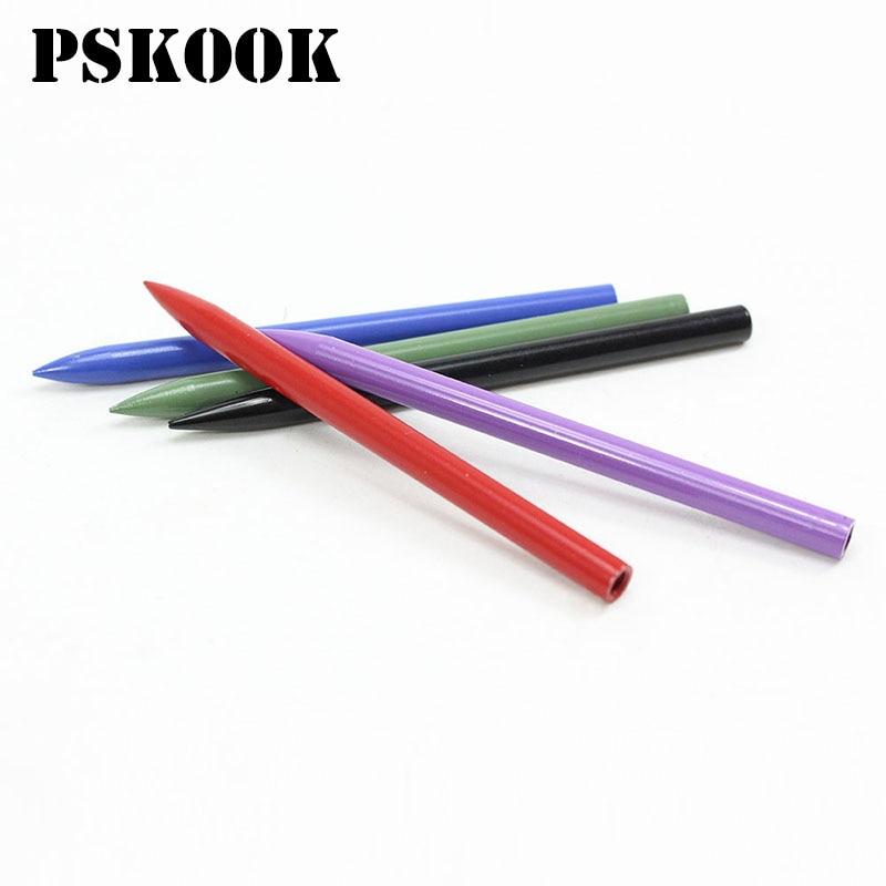 PSKOOK, 2 uds., colorida aguja de Paracord, aguja de acero inoxidable con agujero de 0,5 CM de ancho, herramienta para tejer DIY, accesorios 2020