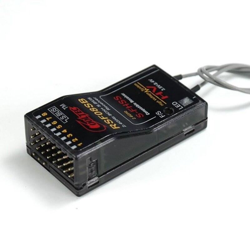 Ресивер Feiying CoolTec RSF08SB 8CH, совместимый с Futaba S-FHSS S.BUS 10J 8J 6J 4GRS 4PX