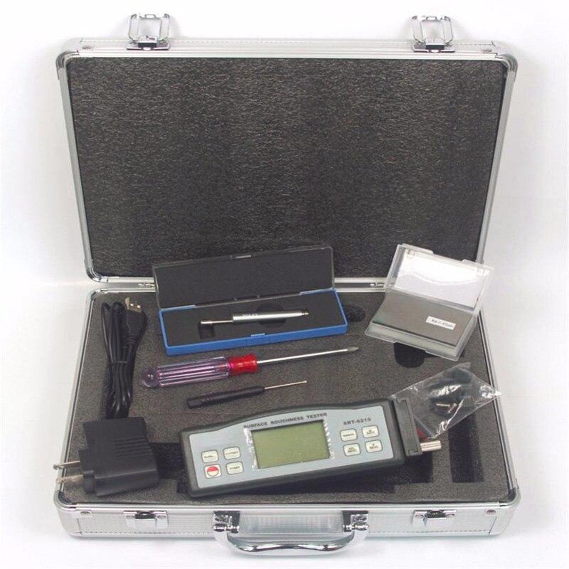 SRT-6210 أداة قياس خشونة الأسطح SRT6210 (Ra/Rz/Rq/Rt ، بيانات الذاكرة ، 5um دبوس) الرقمية Profilometer خشونة قياس
