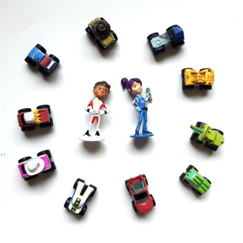 12 개/대 3-6 cm Pvc 기계 machin brinquedo starla 장난감 액션 그림 어린이 장난감 생일 선물 P22