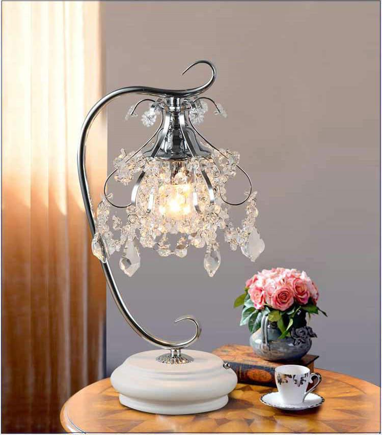 Artpad, роскошные хрустальные настольные лампы для спальни, современные свадебные декорации, светодиодные приглушаемые настольные лампы для ...
